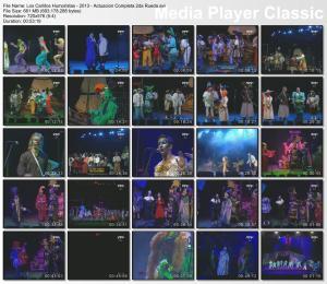 Los Carlitos Humoristas - 2013 - Actuacion Completa 2da Rueda