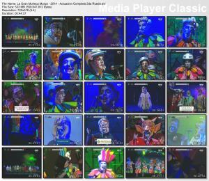 La Gran Muñeca Murga - 2014 - Actuacion Completa 2da Rueda