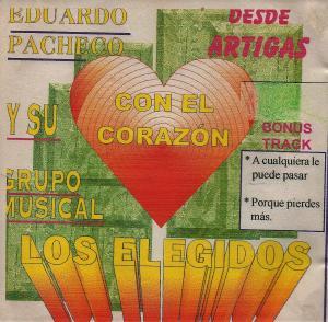 Tapa CD Elegidos Con el Corazón